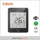 Thermostat de pièce de bobine de ventilateur avec le distant de WiFi pour le mobile androïde d'IOS (TX-937-W)