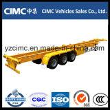 Cimc 3 трейлер контейнера Axle 40ton каркасный
