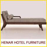 中国の木フレームのChaiseのラウンジのベッドか居間のソファーベッド