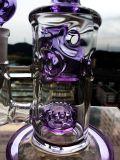 5 Bienenwabe Perc rauchendes Wasser-Glasrohr