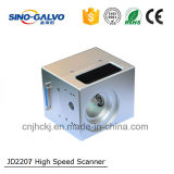 높은 경쟁적인 디지털 Jd2207 12mm 광속 가늠구멍 섬유 검류계 스캐너
