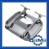 Couverture rectangulaire sanitaire Manway de réservoir d'acier inoxydable