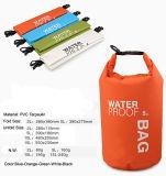 sacco asciutto impermeabile portatile del sacchetto asciutto 2L con l'inarcamento