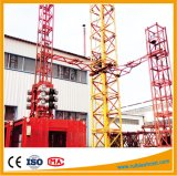 Große Abmessungs-Doppelt-Kabine-materielle Gebäude-Hebevorrichtung für Verkauf