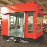 Elevador da carga do aço inoxidável para bens de Carring