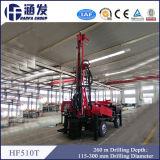 Type portatif ! Plate-forme de forage économique hydraulique de puits d'eau de Hf510t