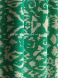 Tela verde de la impresión para la ropa de deportes (HD1401105)