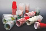 Gebogene Offsetdrucken-Maschine für Plastikcup-Filterglocke-Behälter