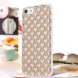 iPhone 7을%s TPU 전화 상자를 녹는 공상 자필 3D Laser 다이아몬드