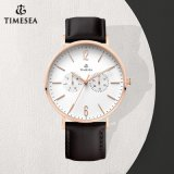 Het Horloge van de Japanse van de Beweging van de luxe Mensen van de Chronograaf op het Roestvrij staal Wristwatch72646 van de Verkoop