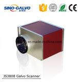 Galvo Scaner Js3808 para a gravura do laser