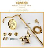 Timelss Life-Style Antique Brass Multifonction Zf-L39 Ensemble de douche avec pluie