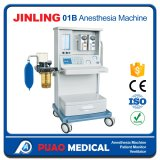 Ce Jinling-01b aprobado con la máquina de la anestesia de dos vaporizadores