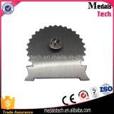 昇進のための美しい印刷のエポキシの金属の銀の折りえりPinをカスタム設計しなさい