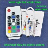 RGB LEDのストリップのためにリモート・コントロールRF