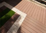 Decking 140X25 composto plástico de madeira projetado alta qualidade