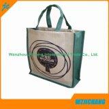 Bolso de mano barato durable de encargo bolsa lienzo