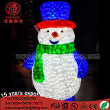 LED 200cm Christmas Street Decoraion 3D Motif Snowman para Outdoor Ce e RoHS