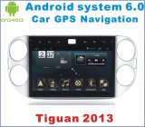 Nuova automobile Android GPS del sistema 6.0 di Ui per Tiguan 2013 con percorso dell'automobile