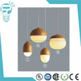 최신 판매 금속 천장 빛 유리제 펀던트 빛