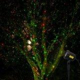 ليفة نجم خارجيّ باردة مقاومة عيد ميلاد المسيح ليزر مسلاط ضوء وابل زخرفة