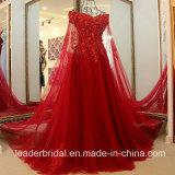 Голубой Organza мантии выпускного вечера краснеет пурпуровые Jeweled платья вечера E99921 партии