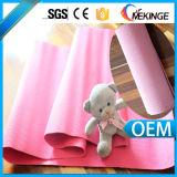 Couvre-tapis personnalisé de yoga d'épaisseur de 12mm, couvre-tapis de yoga de PVC