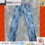 Personnalisation estampée de jeans