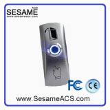 Кнопка двери Gnd нержавеющей стали 12V с индикацией СИД (SB805L)