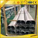 Profil en aluminium de anodisation de qualité avec la pipe en aluminium