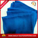 専門の明白な染められたアクリルの総括的なフランネルの羊毛の赤ん坊毛布のSherpaの投球毛布
