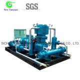 Compressor de pistão Oil-Free do gás inerte do gás do argônio da lubrificação