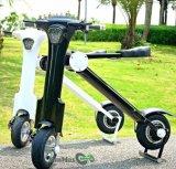 Scooter électrique pliable bon marché de deux roues de Bluetooth pour des adultes