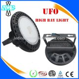do diodo emissor de luz elevado IP65 da luz do louro do diodo emissor de luz do UFO 100W luz industrial/altamente do louro
