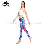 Pantalones de yoga coloridos Womens Yoga Legging Fitness