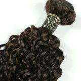 """Glücks-SmaragdSg 3 in 1 mongolischer Rotation 10 """" - brasilianisches Haar unverarbeitete Dyeable Haar-Webart 100% der Jungfrau-16 """" 7A"""