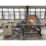 Forno de fusão de indução de média frequência para fusão de alumínio (GYM-40KW)