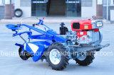 ミャンマーのタイプDf 20/22HPの2車輪トラクターまたは力の耕うん機か歩くトラクター