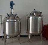 Fábrica de mistura de mistura sanitária do tanque do tanque do aquecimento do tanque do tanque