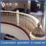 Barandilla de interior /Raing de la escalera del acero inoxidable de la fabricación de la fábrica
