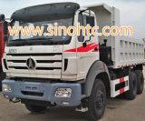 8X4トラック40-50トンの力の星のダンプカー