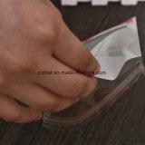 Customzied Transparente OPP impresso auto-adesivo bolsa de plástico com cabeçalho