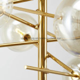 Clear Glass Ball LED Lighting Nouvelle conception Lampe pendentif moderne