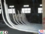 5 ans de garantie d'acier d'éclairage routier galvanisé par Q235 Pôles