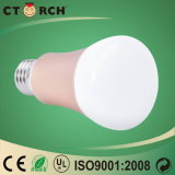 Nuevo control elegante 5W RGB de WiFi del bulbo de la marca de fábrica LED de Ctorch de la llegada