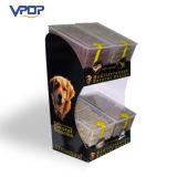 Salvar la publicidad del compartimiento acanalado al por menor del vaciado para los bocados del perro