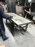 Heiße Verkäufe einer und halbe Blatt-Sicherheits-Stahleintrag-Tür