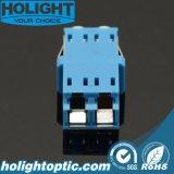 Blauw Sm van de Adapter LC van het blind het Duplex met y-Stof GLB