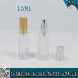 15ml Clear Perfume Glitter Glass Spray Bottle with Atomizer 15ml