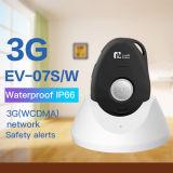 Alarme médico pessoal com maneira Emergency de uma comunicação de voz 2 da tecla do SOS sistema de seguimento do GPS